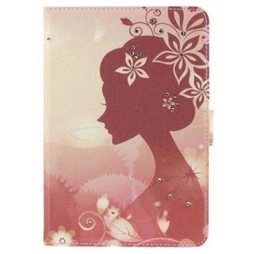 Bling Folio Kotelo iPad Mini iPad Mini 2 iPad Mini 3 Tyttö