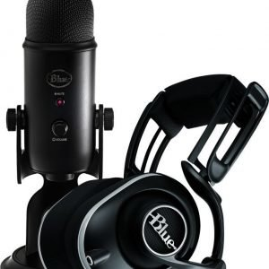 Blue Microphones Lola Black + Yeti Blackout Bundle
