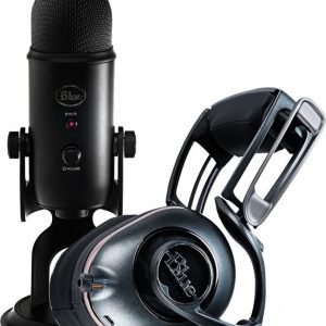 Blue Microphones Mo Fi + Yeti Blackout Bundle