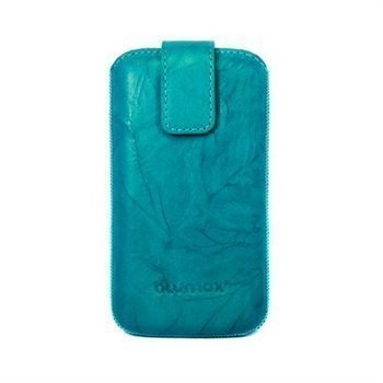 Blumax Leather Case Turquoise