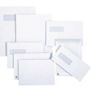 Bong Mailman Envelope E65 H2 Self-adhesive White 500pcs