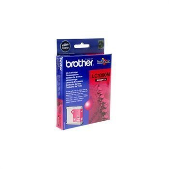 Brother C LC1000C Inkjet Cartridge DCP-130 Magenta