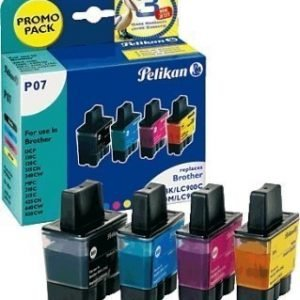 Brother DCP-110 C Inkjet Cartridge Pelikan P07 Multipack Black Cyan Magenta Yellow