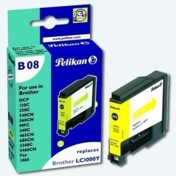 Brother DCP-130 C Inkjet Cartridge Pelikan B08 Yellow