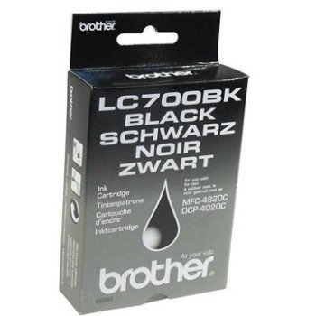 Brother DCP-4020 MFC-4820 Inkjet Cartridge LC700BK Black