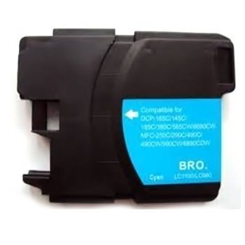 Brother LC-1100C LC-980C Cartridge DCP-165 C MFC-6890 CDW Blue