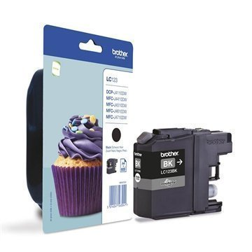 Brother LC123BK Inkjet Cartridge DCP-J 132 W MFC-J 4410 DW Black