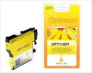 Brother Premium mustepatruuna - Keltainen 1100Y 16 ml