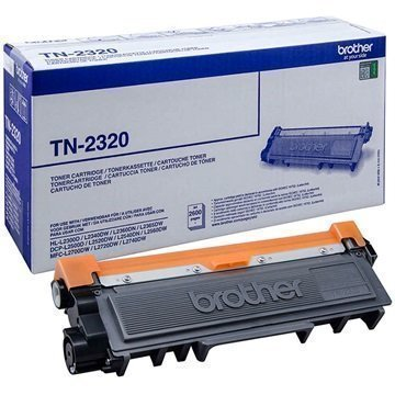 Brother TN-2320 Toner DCP-L2500D HL-L2300D MFC-L2700DW Musta