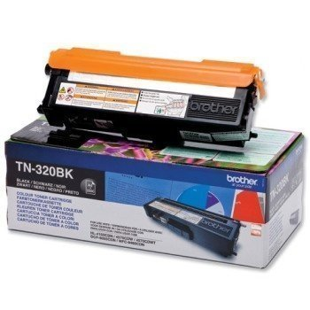 Brother TN-320BK Toner HL-4570 CDW DCP-9055 CDN Black