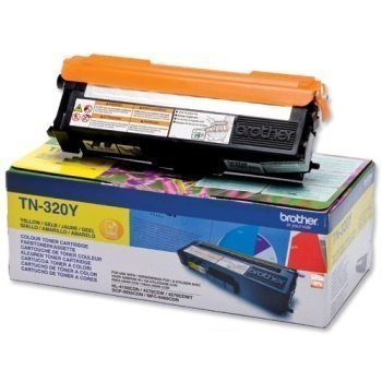 Brother TN-320Y Toner HL-4570 CDW DCP-9055 CDN Yellow