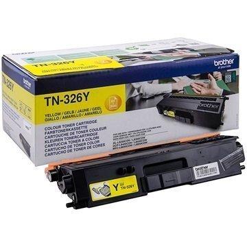 Brother TN-326Y Toner DCP-L8450CDW HL-L8250CDN MFC-L8600CDW Keltainen