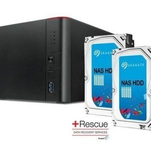 Buffalo Linkstation 441d +4tb Rescue Nas Hdd 4tb