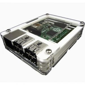 C4 Labs Zebra Case For Raspberry Pi 2/b+ Artic White