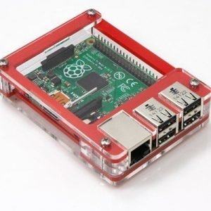 C4 Labs Zebra Case For Raspberry Pi 2/b+ Berry Red