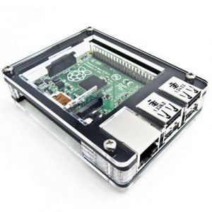 C4 Labs Zebra Case For Raspberry Pi 2/b+ Black Ice