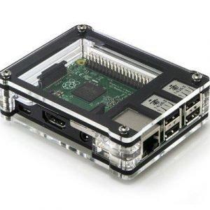 C4 Labs Zebra Case For Raspberry Pi 2/b+ Bold Black Ice