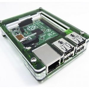 C4 Labs Zebra Case For Raspberry Pi 2/b+ Evergreen