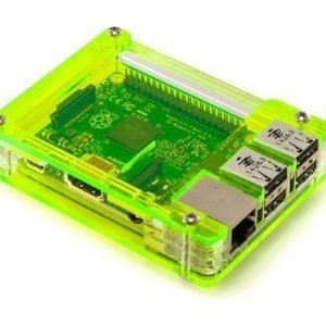 C4 Labs Zebra Case For Raspberry Pi 2/b+ Laser Lime