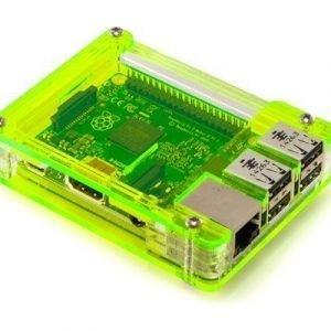 C4 Labs Zebra Case For Raspberry Pi 2/b+ Laser Lime
