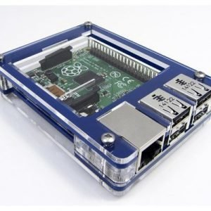 C4 Labs Zebra Case For Raspberry Pi 2/b+ True Blue