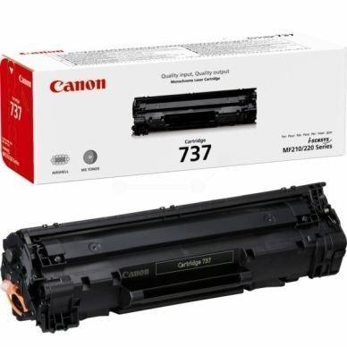 CANON Värikasetti (737) musta 2.400 sivua
