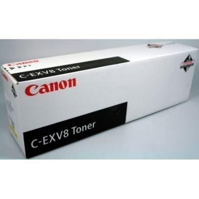 CANON Värikasetti keltainen C-EXV8 25.000 sivua