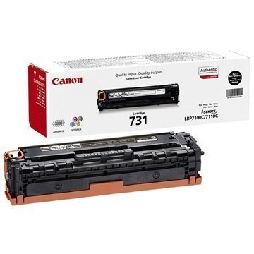 Canon 731 Toner i-SENSYS LBP7100Cn i-SENSYS MF8230Cn Musta