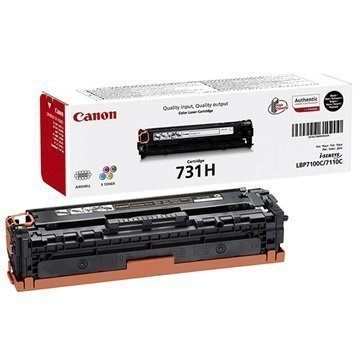 Canon 731H Toner i-SENSYS LBP7100Cn i-SENSYS MF8230Cn Musta