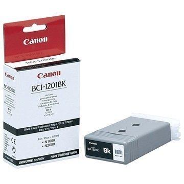 Canon BCI-1201BK Mustepatruuna BIJ-1300 BIJ-2300 N1000 N2000 Musta
