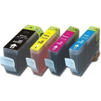 Canon BCI-3EBK BCI-3E/6 (C/M/Y) Cartridge BJC 3000 Black Cyan Magenta Yellow