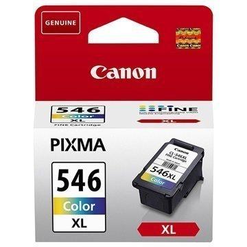 Canon CL-546XL Mustepatruuna PIXMA iP2850 MG2450 MG2550 MG2950 3 Väriä