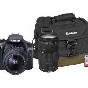 Canon Canon Eos 1300d 18-55 + 75-300 Dc + Acc Kit