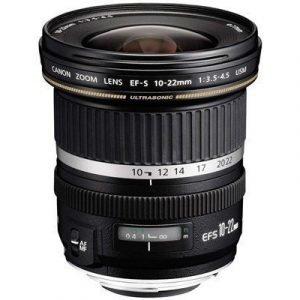 Canon Ef-s Laajakulmaobjektiivi Zoomilla