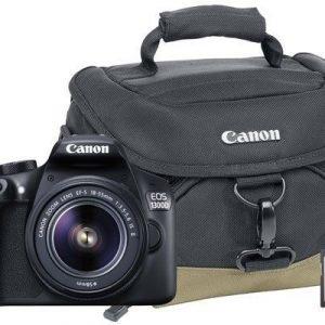 Canon Eos 1300d + Ef-s 18-55/3.5-5.6 Is Ii + 8gb + Bag