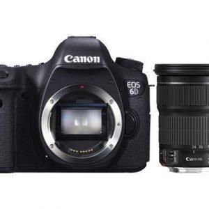 Canon Eos 6d + Ef 24-105/3