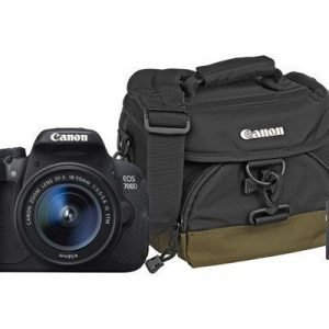 Canon Eos 700d + Ef-s 18-55/3.5-5.6 Is Stm + 8gb + Bag