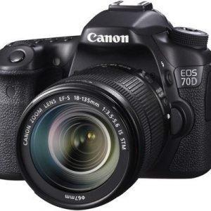 Canon Eos 70d + Ef-s 18-135/3