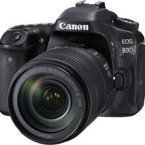 Canon Eos 80d + Ef-s 18-135/3