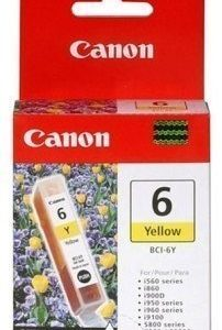 Canon I 560 Pixma IP 4000 Inkjet Cartridge BCI-6Y Yellow