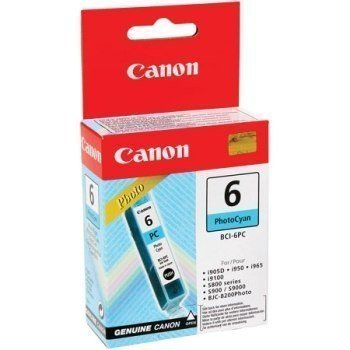Canon I 860 Pixma IP 8500 Inkjet Cartridge BCI-6PC Photo Cyan