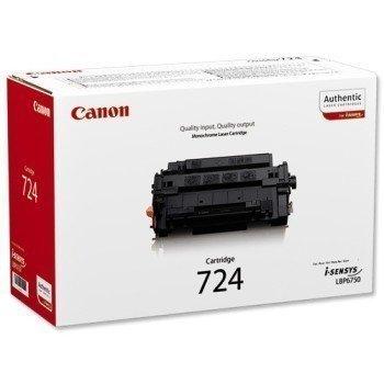 Canon I-SENSYS LBP 6750 DN Toner 724 Black