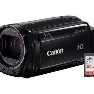 Canon Legria Hf R78 + Wa-h43 + 64gb Sd Musta
