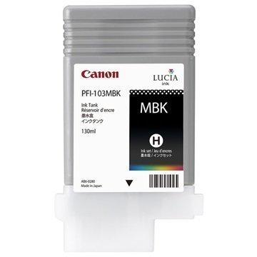 Canon PFI-103MBK Mustepatruuna imagePROGRAF iPF5100 iPF6100 Matta Musta