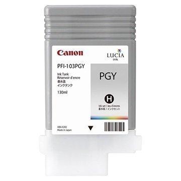 Canon PFI-103PGY Mustepatruuna imagePROGRAF iPF5100 iPF6100 Valokuva Harmaa