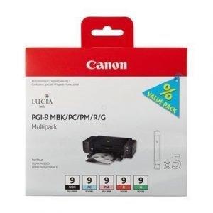 Canon Pgi-9 Mbk/pc/pm/r/g Multi-pack