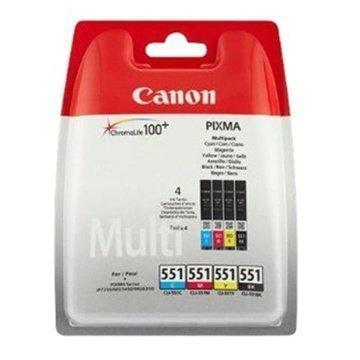 Canon Pixma 551 Mustekasetti Monipakkaus MG 7150 Syaani Magenta Keltainen Musta