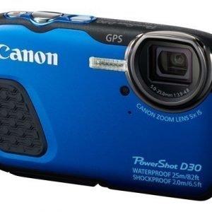 Canon Powershot D30 Sininen Musta