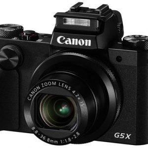 Canon Powershot G5 X Musta
