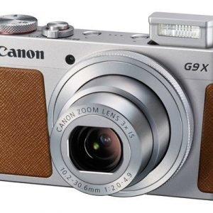 Canon Powershot G9 X Hopea Ruskea